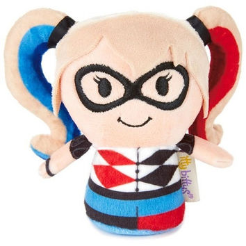 Hallmark itty bittys DC SUPER HERO GIRLS HARLEY QUINN Stuffed Animal