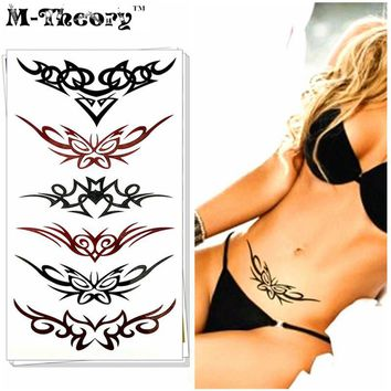 Tattoo Sticker M-Theory Sexy Temporary Waterproof