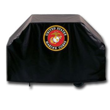 "60"" Marine Corps Grill Cover - Outdoor Decor - Home Decor - Gifts 