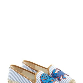 Tory Burch 'Crab' Espadrille Flat (Women) | Nordstrom