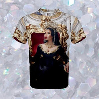 Nicki Minaj Queen All Over T-Shirt | Unisex S-XXL | Tumblr Cute Cool Kawaii Seapunk Drake Lil Wayne Clothing *ON SALE*