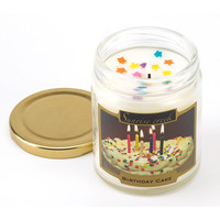 Birthday Cake Scented Soy Blend Jar Candle