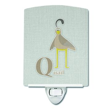 Alphabet Q for Quail Ceramic Night Light BB5742CNL