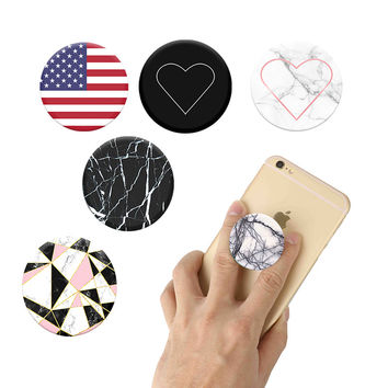 PopSocket phone ring holder Expanding Stand and Grip Pop Socket Mount for Smartphones and Tablets For Xiaomi iPhone holder