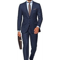 Suit Blue Stripe Sienna P4700i | Suitsupply Online Store