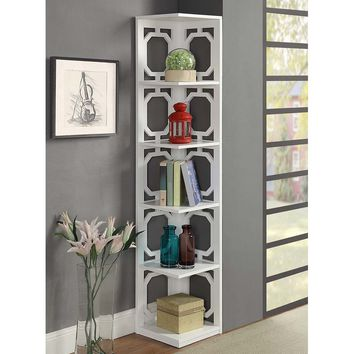 "Ardenvor 63.75"" Corner Unit Bookcase"