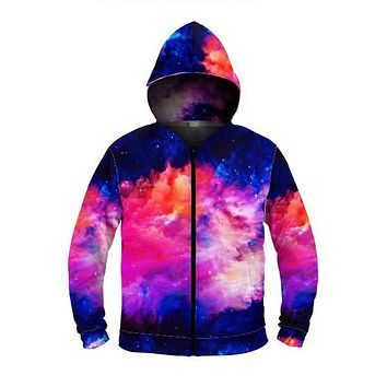 Dream Waves - Zip Up Hoodie