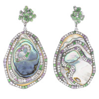 Abalone Shell Earrings | Marissa Collections