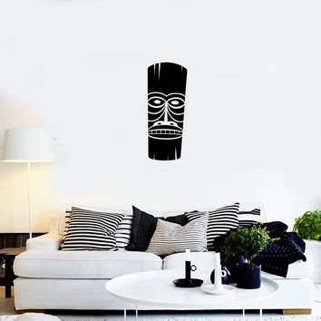 Vinyl Decal African Mask Ethnic Style Decoration Wall Sticker Decor for Bedroom Unique Gift (g056)