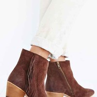 Seychelles Good Advice Fringe Suede Boot- Chocolate