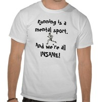 Runner_clipart_1, Running is a mental sport. An... Shirts from Zazzle.com