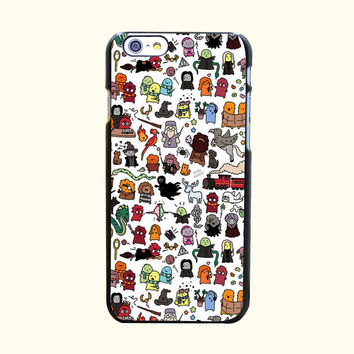 Kawaii Harry Potter Hard Case Cover for iPhone Fun