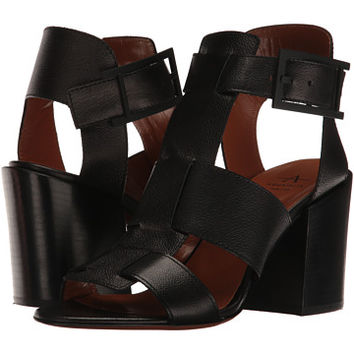 Aquatalia Freesia Black Grainy Calf - Zappos.com Free Shipping BOTH Ways