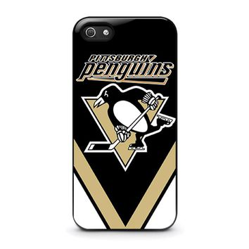 PITTSBURGH PENGUINS iPhone 5 / 5S / SE Case Cover
