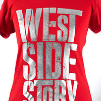 Broadway Merchandise Shop: Broadway Souvenirs and Apparel > Apparel > West Side Story Ladies V Neck