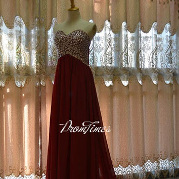 Prom dress, Prom Dresses, Red Prom Dress, Beaded Prom Dresses, Red Evening Dress Prom, Prom Dress Plus Size