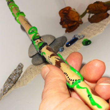Magic wand, Hermione wand, Wizards magic wands, Handmade natural magic wand, Fairy wand, Harry Potter magic wand, Organic magic wand, Unique