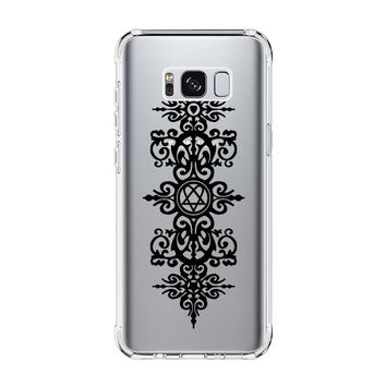 HIM BAND HEARTAGRAM CERTIFICATE Samsung Galaxy S4 S5 S6 S7 Edge Clear Case