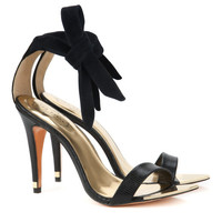 Ankle tie heel - Black | Shoes | Ted Baker