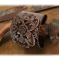 Antique Steampunk Cuff