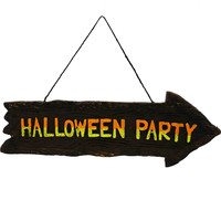 Halloween Halloween Sign Wall Hanging Halloween Sign / Plaque