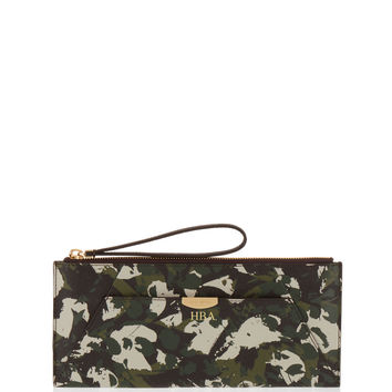 West 57th Floral Camouflage Travel Pouch