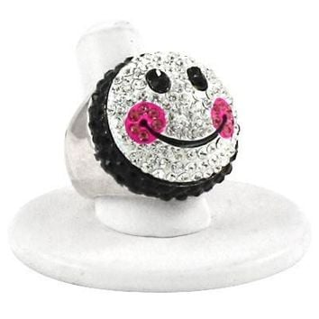 *[R]-Smiley Face Stretch Ring