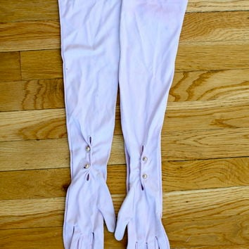 Long Lilac Gloves  (Small/Indie Brands)