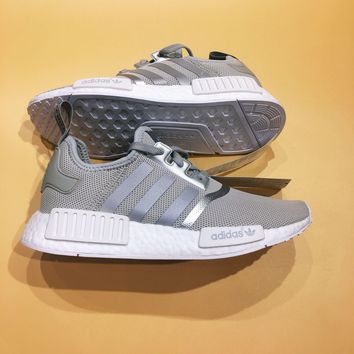 Adidas NMD R1 Boost Silver/Gray Sneakers