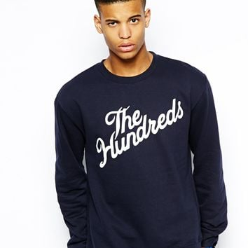 The Hundreds Sweatshirt with  Forever Slant Logo