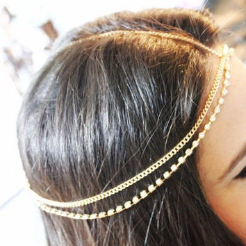 Helen Bohemian Headpiece Hair Jewelry