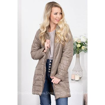 Quilted Bomber Puffer Jacket | Colors