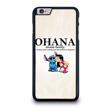 LILO AND STITCH OHANA FAMILY Disney iPhone 6 / 6S Plus Case Cover