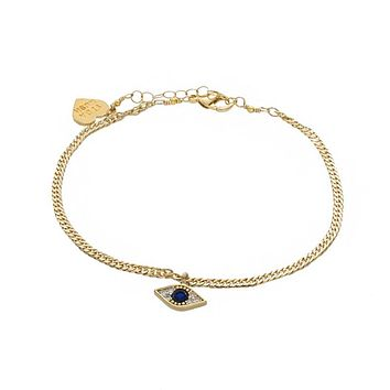Mini Evil Eye Anklet