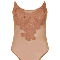 PETITE Floral Applique Body - New In