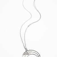Ax + Apple Womens Naja Necklace - Silver One