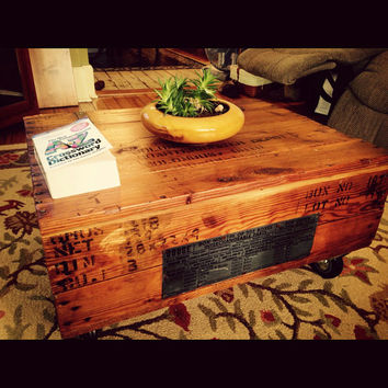 Best Shipping Crate Products On Wanelo - Shipping crate coffee table
