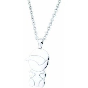 Necklace Stainless Steel Little Boy with Cap