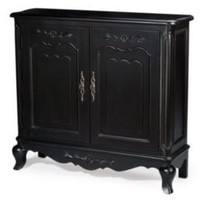One Kings Lane - Furniture for All - 2-Door Cabinet, Black
