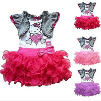 Hello Kitty with Tutu Set