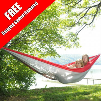 Byer of Maine A103084 Red Traveller Double Hammock XXL