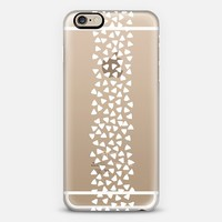 Traingles - white iPhone 6 case by Sarah Jane Design | Casetify