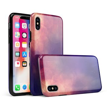 Abstract Fire & Ice V17 - iPhone X Swappable Hybrid Case