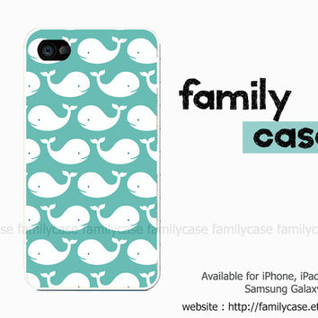 Whale iPhone 5 Case, Whale iPhone 4 Case, Apple iPhone 4S Case,Hard iPhone Case, iPhone 5 Cover, Unique iPhone 4 Cover Cases