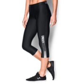 Under Armour Women's UA HeatGear Armour Graphic Capri