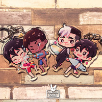 Charms | Voltron beach date by whiterabbitcafe