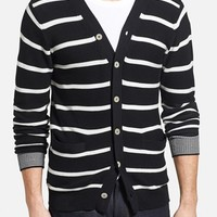 Men's J. Press York Street Stripe Cardigan
