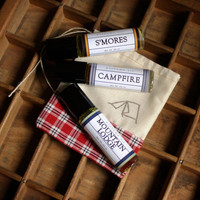 Summer Camp Perfume Oil Set - 3 Bottles in Campy Scents