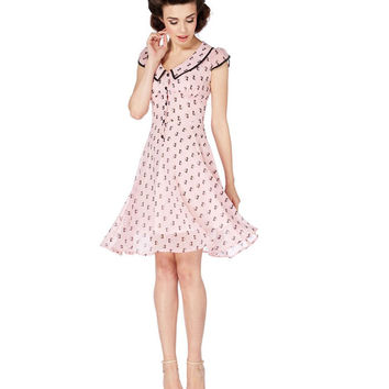 Voodoo Vixen Chiffon Kitties Dress