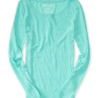 LONG SLEEVE CORE SCOOP-NECK TEE